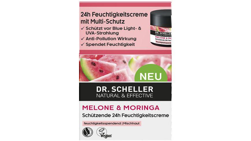 Dr Scheller Melone Moringa Schuetzende 24h Feuchtigkeitscreme