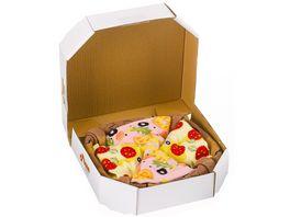 Geschenkbox Pizza Socken unisex 3er Pack