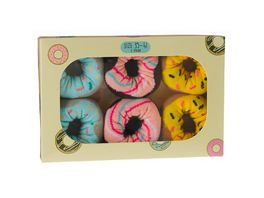Geschenkbox Donut Socken unisex 3er Pack