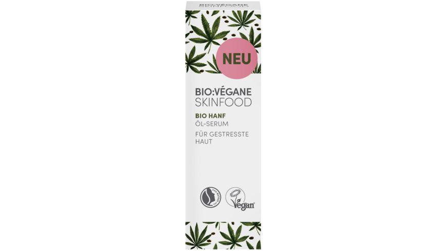 Bio Vegane Bio Hanf Oel Serum
