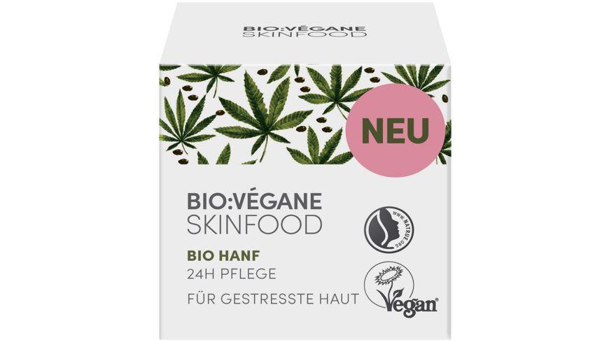 Bio Vegane Bio Hanf 24h Pflege