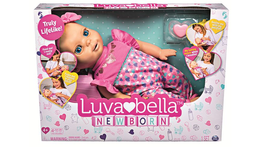 Spin Master Luvabella Newborn