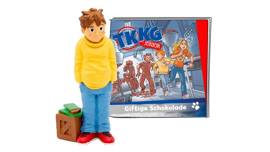 tonies Hoerfigur fuer die Toniebox TKKG Junior Giftige Schokolade