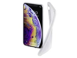 Hama Cover Crystal Clear fuer Apple iPhone X Xs Transparent