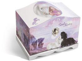NICI Schmuckbox Soulmates Mystery Hearts mit LED Lichtern