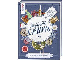 Handmade Christmas Basteln dekorieren schenken