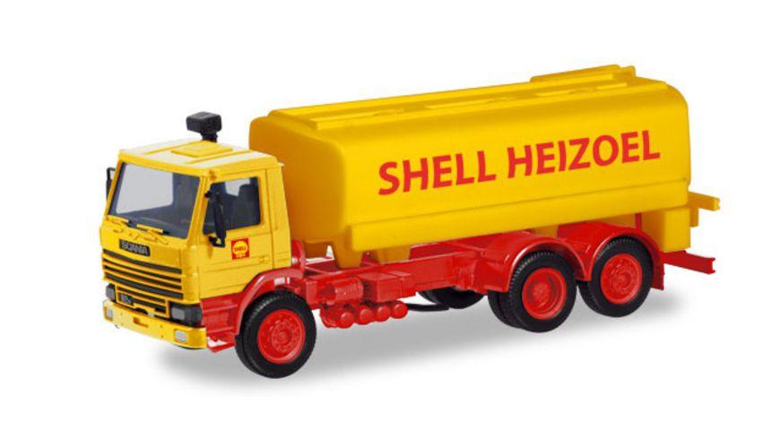 Herpa 310956 Scania 112 Tank LKW Shell