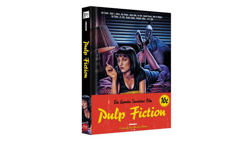 Pulp Fiction - 2-Disc Limited Collector's Edition (+ DVD) - Cover A