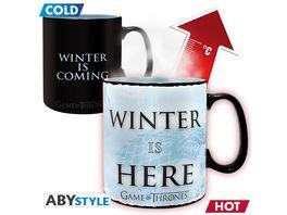 Game of Thrones Winter is here Thermoeffektasse 460ml
