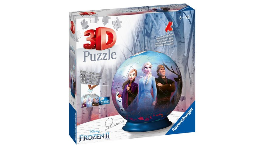 Ravensburger Puzzle - 3D Puzzle-Ball - Frozen 2
