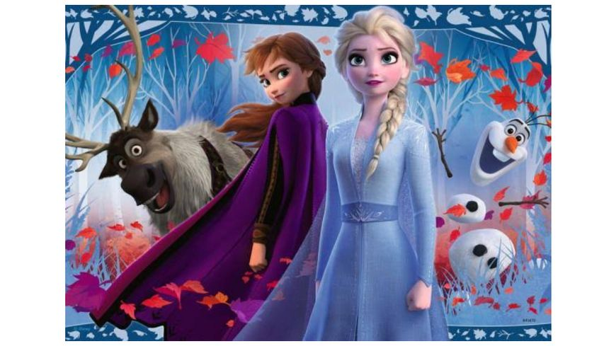 Ravensburger Puzzle Frozen Reise ins Ungewisse 2x12 Teile