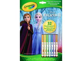 Crayola Crayola Disney Frozen 2 Ausmal und Beschaeftigungsbogen