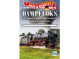 Dampfloks aus Deutschland Oesterreich und Schweiz