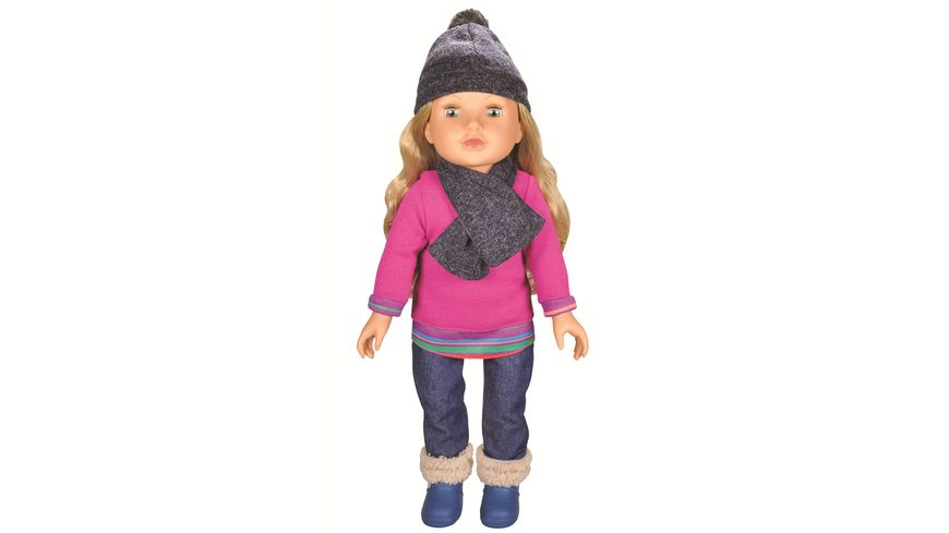Müller - Toy Place - Modern Girl! Puppe Blond Pink Pulli