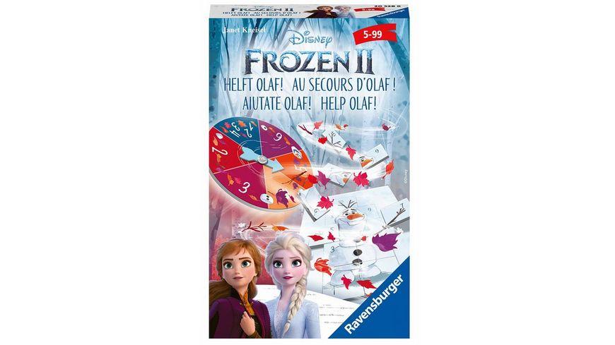 Ravensburger Spiel Frozen 2 Helft Olaf Ein spannendes Mitbringspiel von Ravensburger zum Kinofilm Die Eiskoenigin 2
