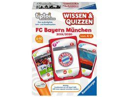 Ravensburger tiptoi Wissen Quizzen FC Bayern Muenchen 2019 2020