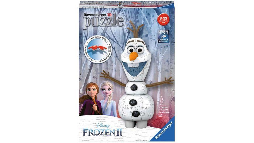 Ravensburger Puzzle 3D Puzzles Olaf