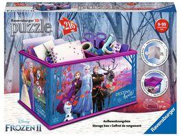 Ravensburger Puzzle 3D Puzzles Aufbewahrungsbox Frozen 2
