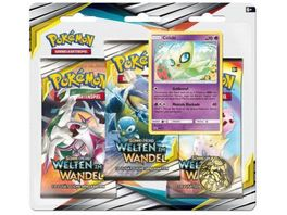 Pokemon Sammelkartenspiel Sonne Mond Welten im Wandel Blister sortiert