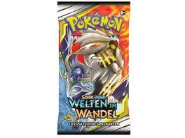 Pokemon Sammelkartenspiel Sonne Mond Welten im Wandel Booster