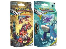 Pokemon Sammelkartenspiel Sonne Mond Welten im Wandel Themendeck 1 Stueck sortiert