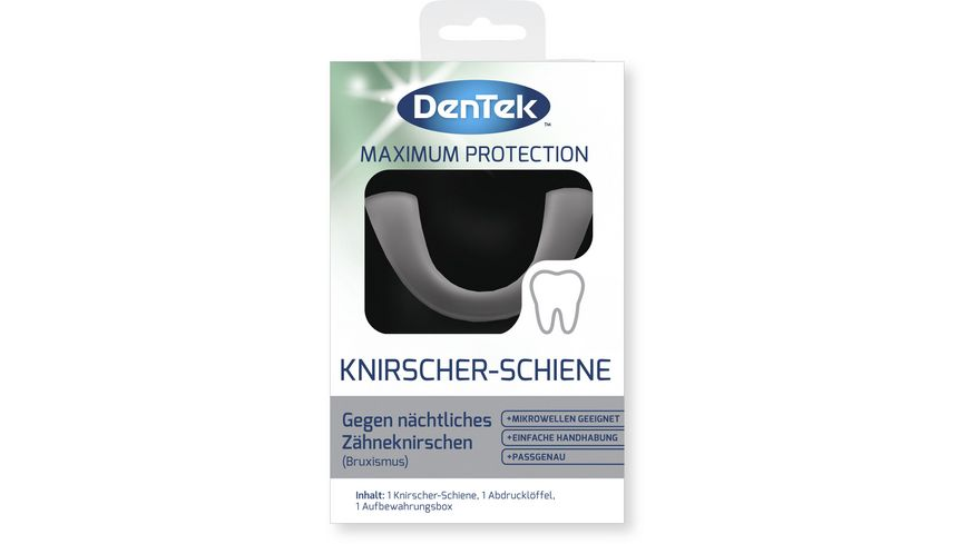 DenTek Maximum Protection Knirscher Schiene
