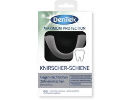 DenTek Maximum Protection Knirscher Schiene