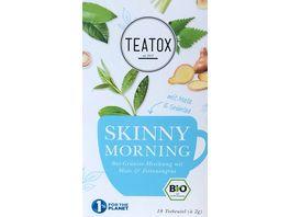 TEATOX Skinny Morning Bio Doppelkammerteebeutel