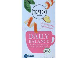 TEATOX Daily Balance Bio Doppelkammerteebeutel