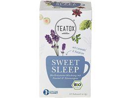 TEATOX Sweet Sleep Bio Doppelkammerteebeutel