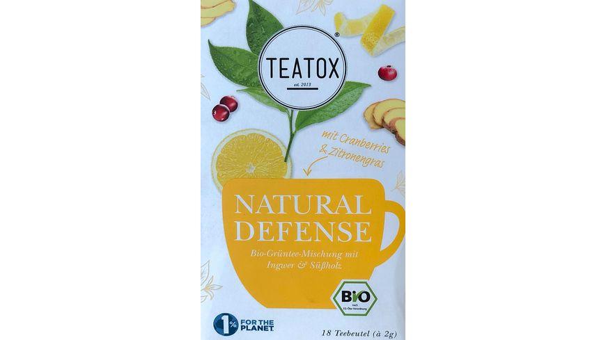 TEATOX Natural Defense - Bio Doppelkammerteebeutel