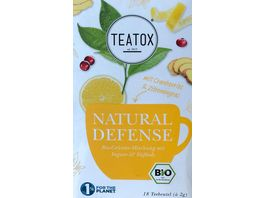 TEATOX Natural Defense Bio Doppelkammerteebeutel