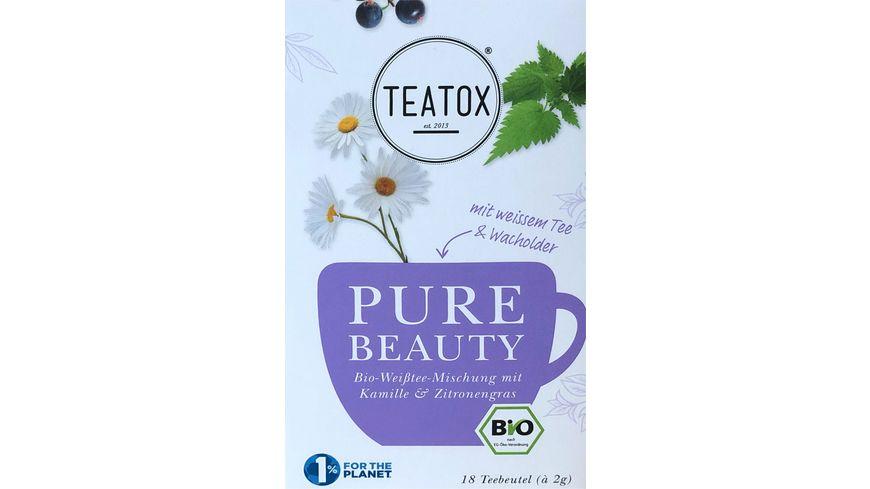 TEATOX Pure Beauty - Bio Doppelkammerteebeutel