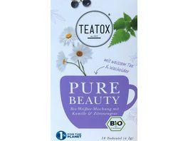 TEATOX Pure Beauty Bio Doppelkammerteebeutel