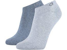 Calvin Klein Damen Fuesslinge Knit Payal 2er Pack