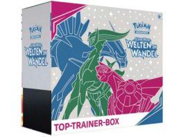 Pokemon Sammelkartenspiel Top Trainer Box Sonne Mond Welten im Wandel