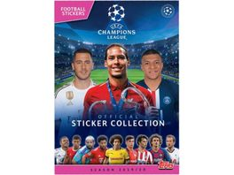 Topps UEFA Champions League 2019 2020 Trading Cards Album