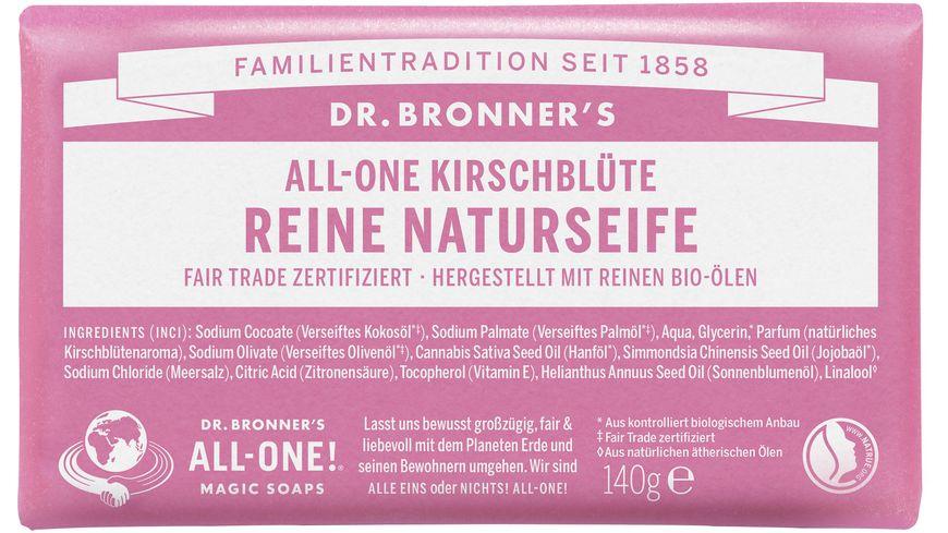 DR. BRONNER'S reine Naturseife Kirschblüte