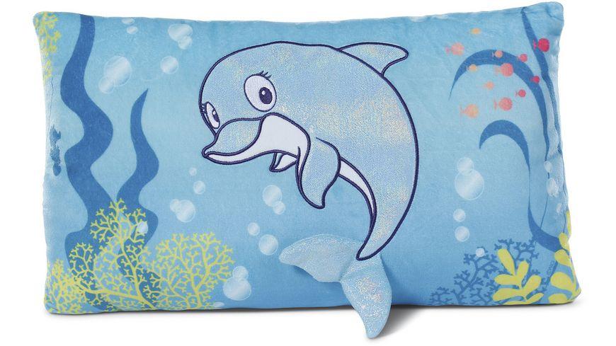 NICI Kissen Delfin Del Finchen 43x25 cm