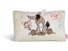 NICI Kissen Esel und Schmetterling 43x25cm