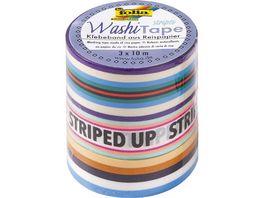 folia Washi Tape 3er Set Neon Stripes