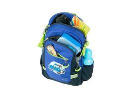 WALKER Police Kids Backpack Dark Blue