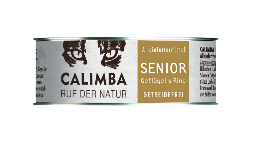 CALIMBA Nassfutter Senior