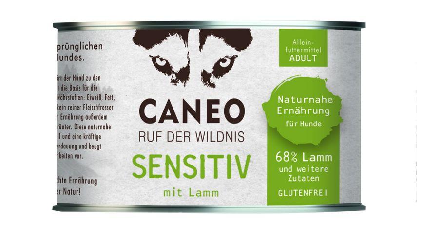 CANEO Nassfutter Sensitiv Lamm