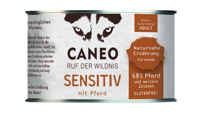 CANEO Nassfutter Sensitiv Pferd Dose