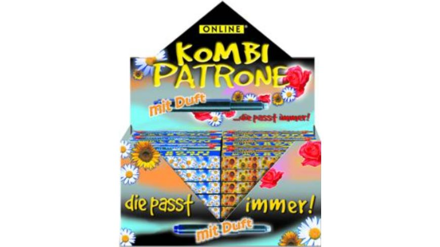 ONLINE Grossraumpatrone Kombi Duft sortiert