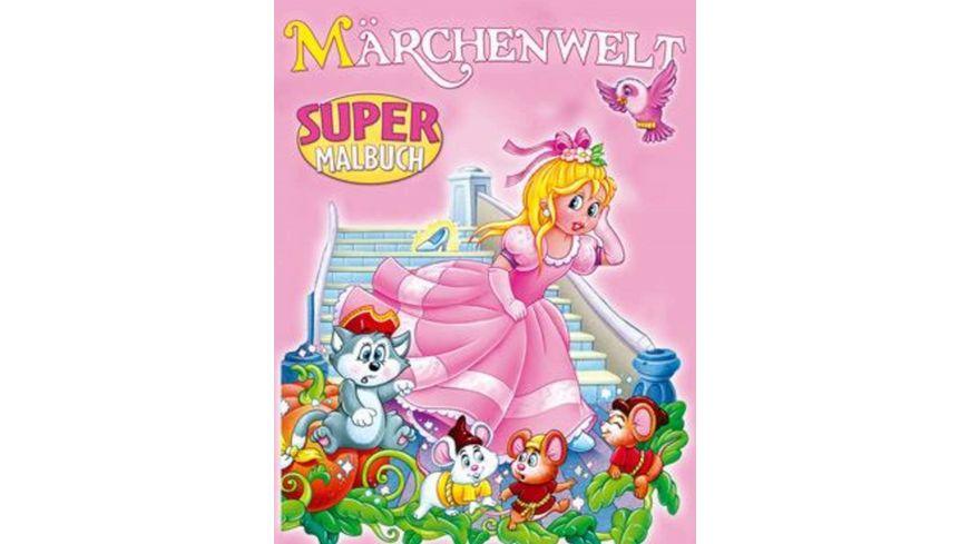 Super-Malbuch Märchenwelt