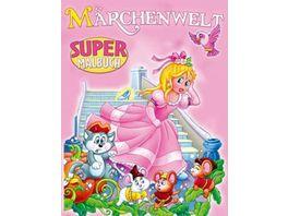 Super Malbuch Maerchenwelt
