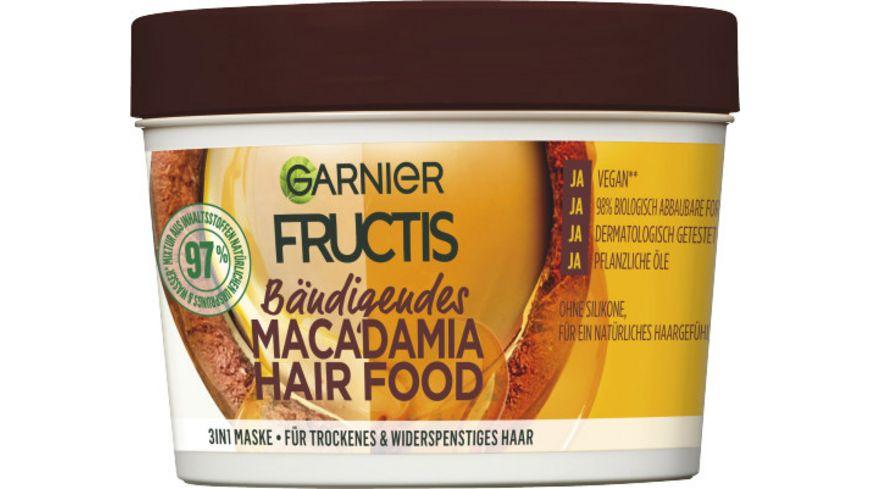 GARNIER FRUCTIS Baendigendes Macadamia Hair Food