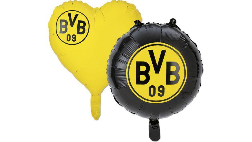 BVB Folienballons, 2er-Set